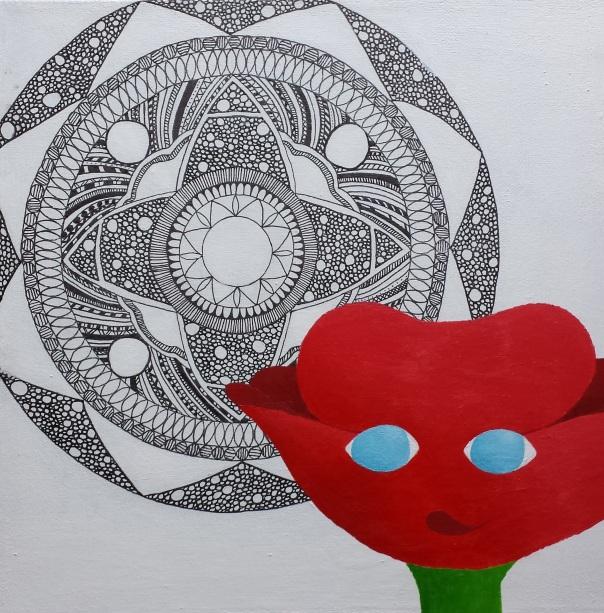 #23 flower mandala
