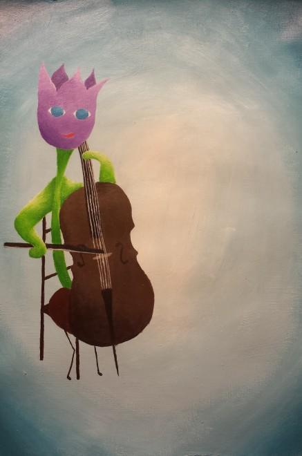 #6 the cellist